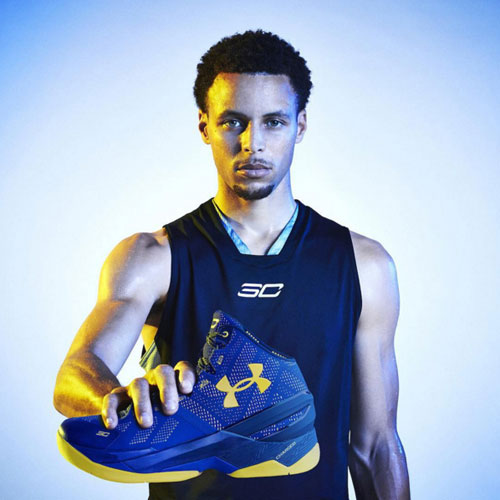 Stephen Curry ve Under Armour Curry 2