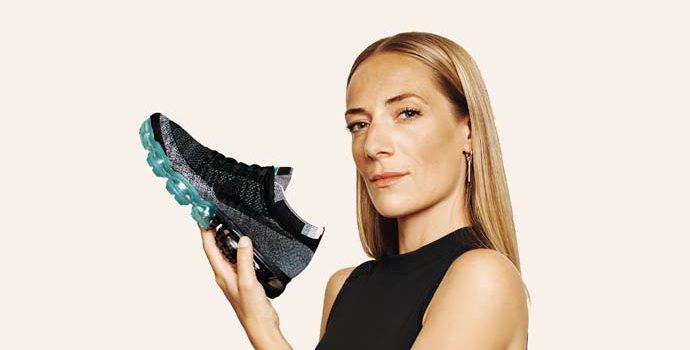 Nike Air VaporMax Flyknit'de Johanna Schneider İmzası