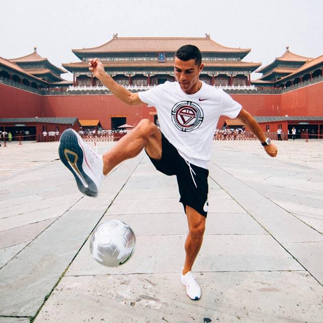 Cristiano Ronaldo Çin'de