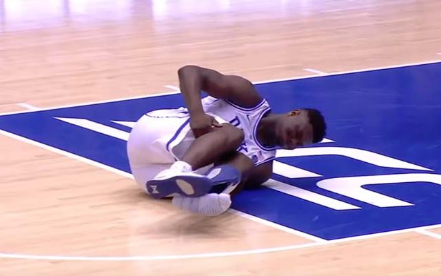 Zion Williamson sakatlandı