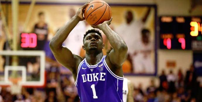 Zion Williamson Basketbola Nike İle Döndü
