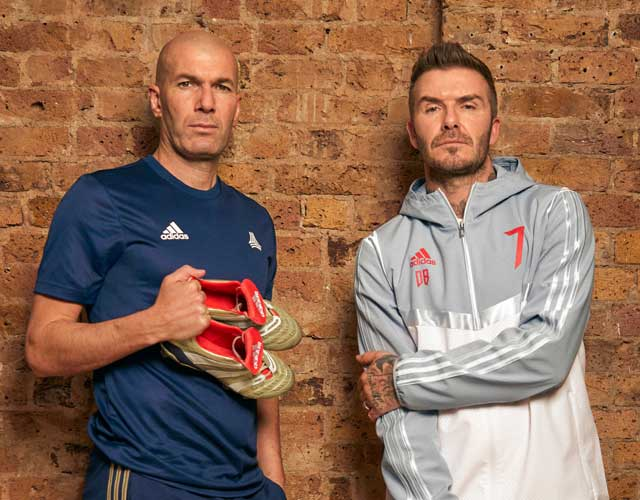 Zinedine Zidane ve David Beckham