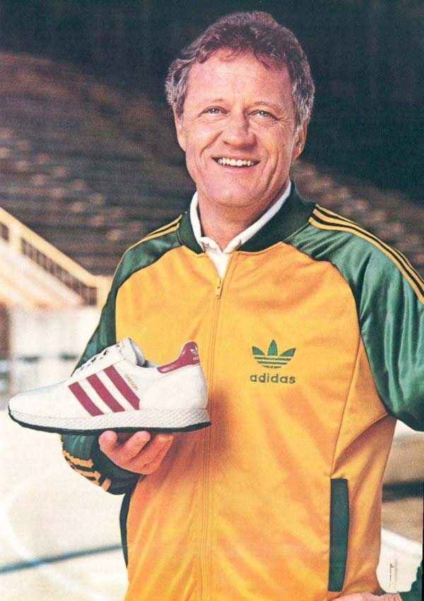 Bill Dellinger ve adidas Oregon