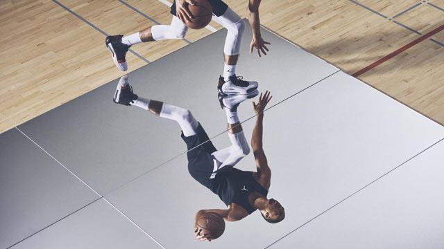Air Jordan XXXIV Jayson Tatum'un ayaklarında