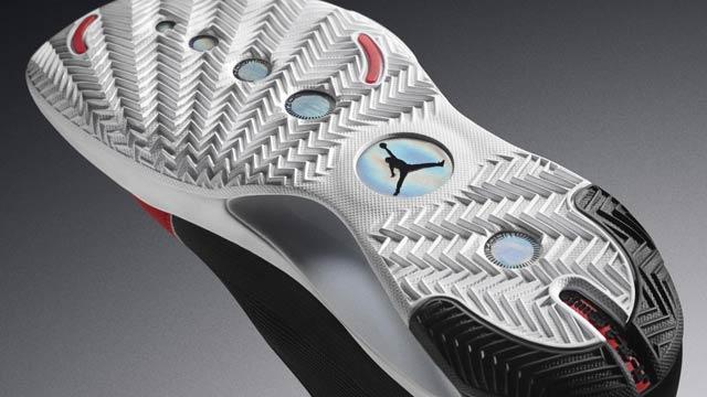 Air Jordan XXXIV taban detayı