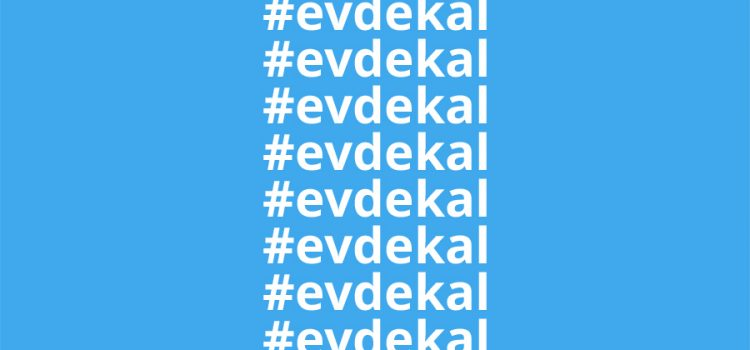 #evdekal